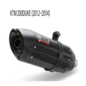 미브 200듀크 풀시스템 머플러 KTM (2012-2014) 수오노 블랙 스틸