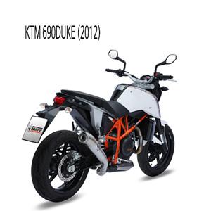 미브 690듀크 (2012) GHIBLI 스틸 슬립온 머플러 KTM