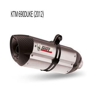 미브 690듀크 슬립온 (2012) 머플러 KTM 수오노 스틸