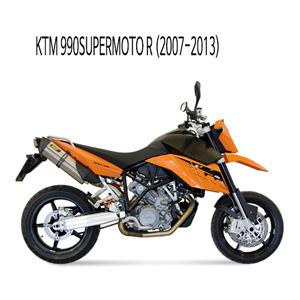 미브 990슈퍼모토R 머플러 KTM (07-13) 수오노 스틸 슬립온