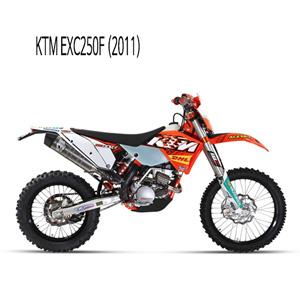 미브 EXC250F (2011) 스트롱거 스틸 풀시스템 머플러 KTM