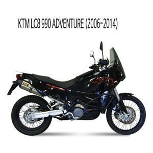 미브 LC8 990 어드벤처 머플러 (06-14) KTM 수오노 스틸 슬립온