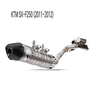 미브 SX-F250 오벌 스틸 풀시스템 (2011-2012) 머플러 KTM
