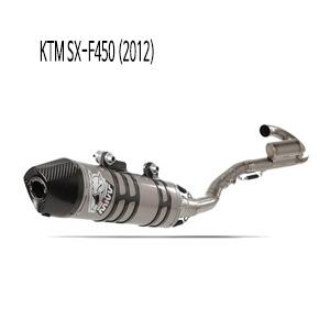 미브 SX-F450 KTM (2012) 오벌 티탄 풀시스템 머플러