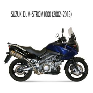 미브 DL 브이스톰1000 (2002-2013) 수오노 스틸 슬립온 머플러 스즈키