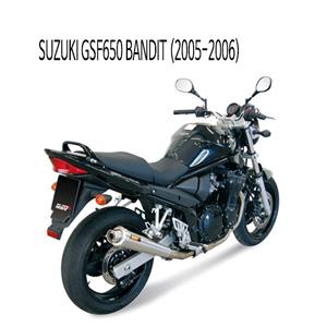 미브 GSF650 엑스콘 스틸 슬립온 (05-06) 벤디트 머플러 스즈키