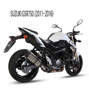 미브 GSR750 머플러 스즈키 (11-16) 수오노 스틸 슬립온