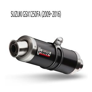 미브 GSX1250FA GP 블랙 스틸 슬립온 (2009-2016) 머플러 스즈키