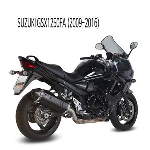 미브 GSX1250FA 스피드엣지 BLACK (2009-2016) 스틸 슬립온 머플러 스즈키
