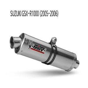 미브 2005-2006 오벌 스틸 (GSX-R1000) 슬립온 머플러 스즈키