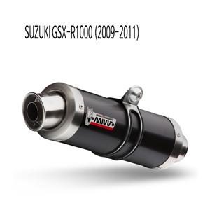 미브 (09-11) GP 블랙 스틸 슬립온 머플러 스즈키 GSX-R1000