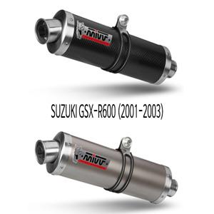 미브 01-03 GSX-R600 오벌 슬립온 머플러 스즈키