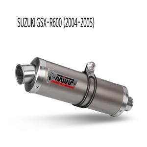 미브 04-05 스즈키 머플러 GSX-R600 오벌 티탄 슬립온