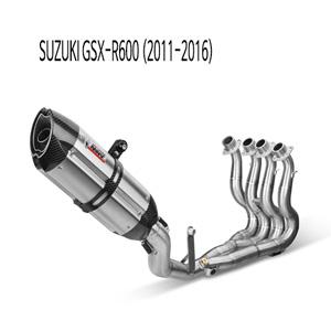 미브 (11-16) GSX-R600 수오노 스틸 풀시스템 머플러 스즈키