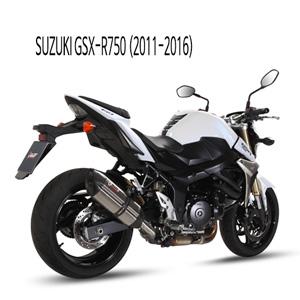 미브 GSX-R750 스즈키 (11-16) 수오노 스틸 슬립온 머플러