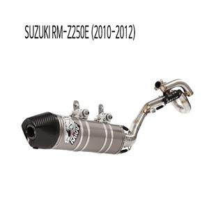 미브 RM-Z250E (10-12) 오벌 스틸 풀시스템 머플러 스즈키