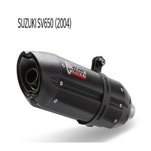 미브 SV650 (04) BLACK 스틸 슬립온 수오노 머플러 스즈키