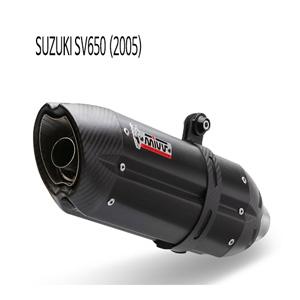 미브 SV650 (05) BLACK 스틸 수오노 슬립온 머플러 스즈키