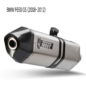 미브 머플러 BMW F650 GS (2008-2012) SPEED EDGE-STAINLESS STEEL 슬립온