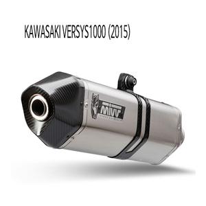 미브 버시스1000 (2015) STEEL 스피드엣지 슬립온 머플러 가와사키