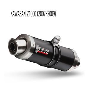 미브 Z1000 (07-09) 블랙색상 GP 스틸 슬립온 머플러 가와사키