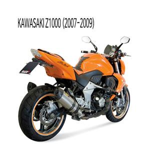 미브 Z1000 (07-09) (STEEL) 수오노 스틸 슬립온 머플러 가와사키