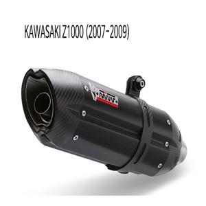 미브 Z1000 (07-09) BLACK STEEL 수오노 슬립온 가와사키 머플러