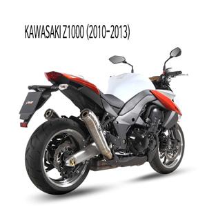미브 Z1000 (10-13) GHIBLI 스틸 슬립온 머플러 가와사키