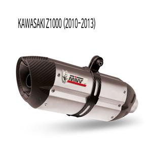 미브 Z1000 (10-13) 수오노 스틸 슬립온 가와사키 머플러