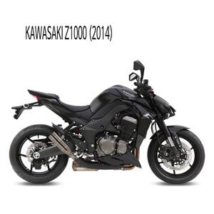 미브 Z1000 더블건 티탄 슬립온 가와사키 머플러 (2014)