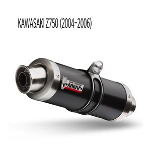 미브 Z750 (04-06) GP BLACK 스틸 슬립온 가와사키 머플러