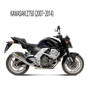 미브 Z750 엑스콘 스틸 슬립온 가와사키 머플러 (07-14)