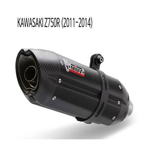미브 Z750R (11-14) (BLACK) 수오노 스틸 슬립온 가와사키 머플러