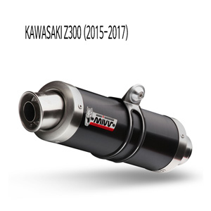 미브 Z300 (15-16) BLACK GP 스틸 슬립온 가와사키 머플러