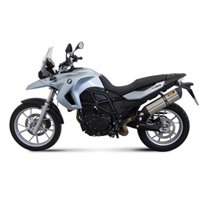 미브 머플러 BMW F650 GS (2008-2012) SUONO-STAINLESS STEEL 슬립온