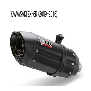 미브 ZX-6R (09-16) BLACK STEEL 수오노 슬립온 가와사키 머플러