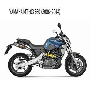 미브 MT-03 660 (2006-2014) 수오노 스틸 슬립온 머플러 야마하