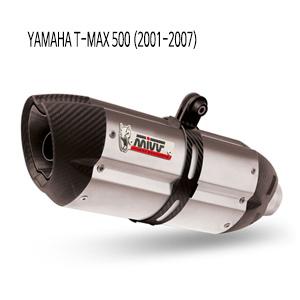 미브 티맥스500 수오노 스틸 풀시스템 (01-07) 머플러 야마하