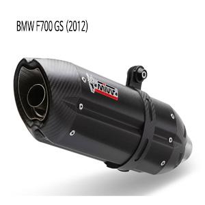 미브 F700GS (2012) 수오노 블랙 머플러 BMW스틸 슬립온