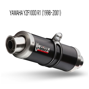 미브 YZF R1 (1998-2001) 블랙색상 스틸 GP 슬립온 머플러 야마하