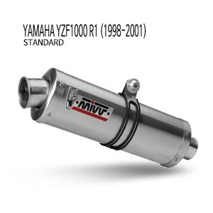 미브 YZF R1 (1998-2001) standard 야마하 오벌 스틸 슬립온 머플러