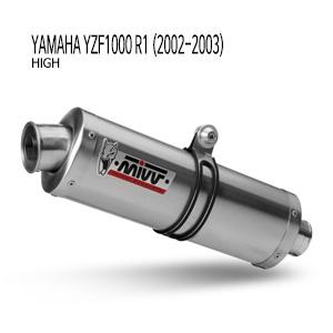 미브 YZF R1 02-03 야마하 오벌 스틸(high) 슬립온 머플러