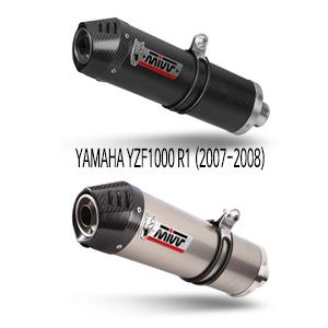 미브 YZF R1 (2007-2008) 오벌 머플러 야마하 슬립온