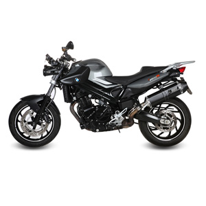 미브 머플러 BMW F800 R (2009) SPEED EDGE BLACK-BLACK STAINLESS STEEL 슬립온