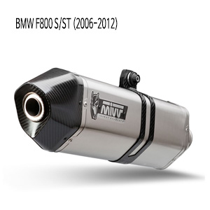 미브 머플러 BMW F800 S/ST (2006-2012) SPEED EDGE-STAINLESS STEEL 슬립온