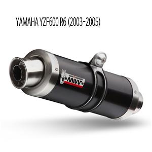 미브 YZF R6 GP BLACK(03-05) 스틸 슬립온 머플러 야마하