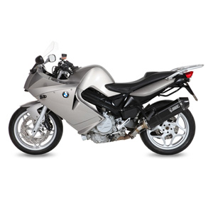 미브 머플러 BMW F800 S/ST (2006-2012) SPEED EDGE BLACK-BLACK STAINLESS STEEL슬립온