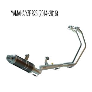 미브 YZF R25 GP BLACK 스틸 풀시스템 머플러 야마하 (2015)