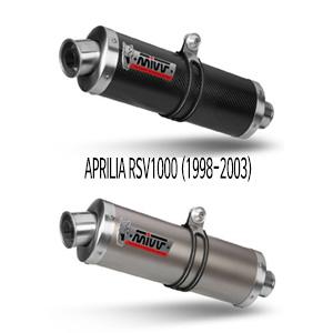 미브 RSV1000 오벌 슬립온 머플러 (1998-2003) 카본 머플러 아프릴리아