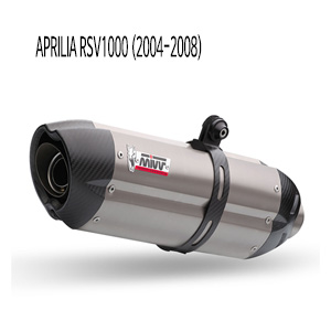 미브 RSV1000 티탄 (2004-2008) 수오노 슬립온 머플러 아프릴리아